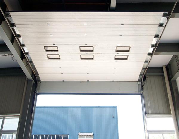 标准翻板提升工业门