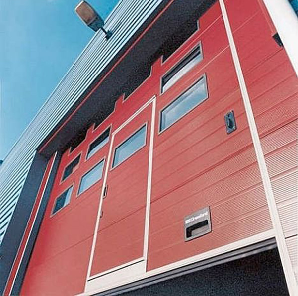 消防专用垂直提升工业门