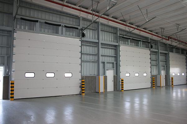 标准翻板提升扭簧防断工业门