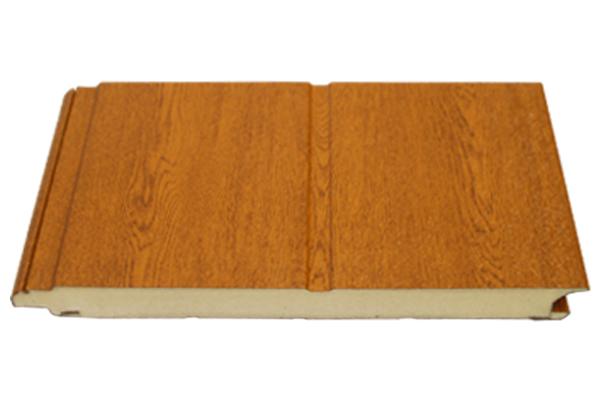 仿木纹单条纹聚氨酯门板